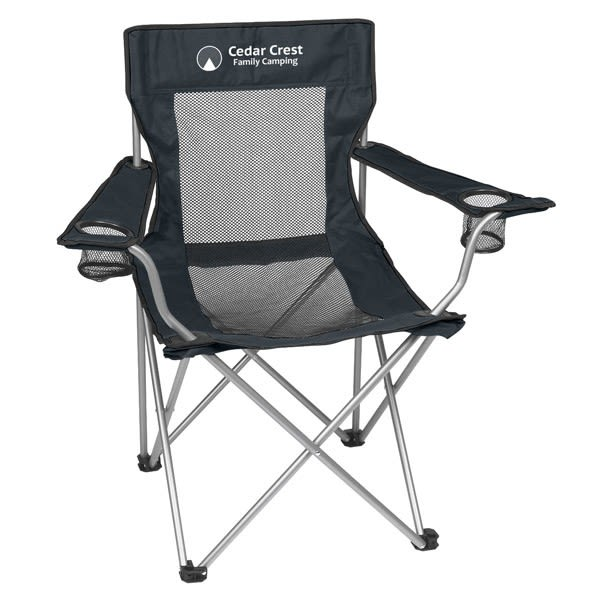 Mesh Personalized Promotional Portable Folding Chair