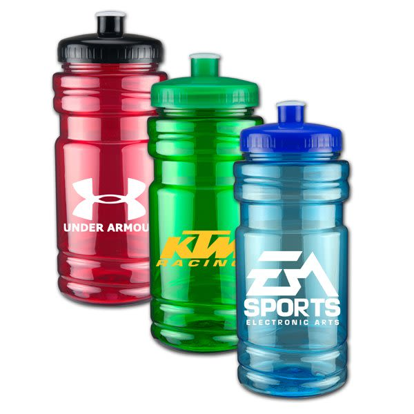 Personalized Sports Bottle Labels: Custom Push-Pull Water Bottles