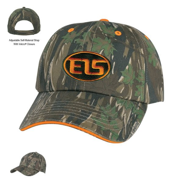 Camouflage Promotional Embroidered Hat  8a01defb4f4