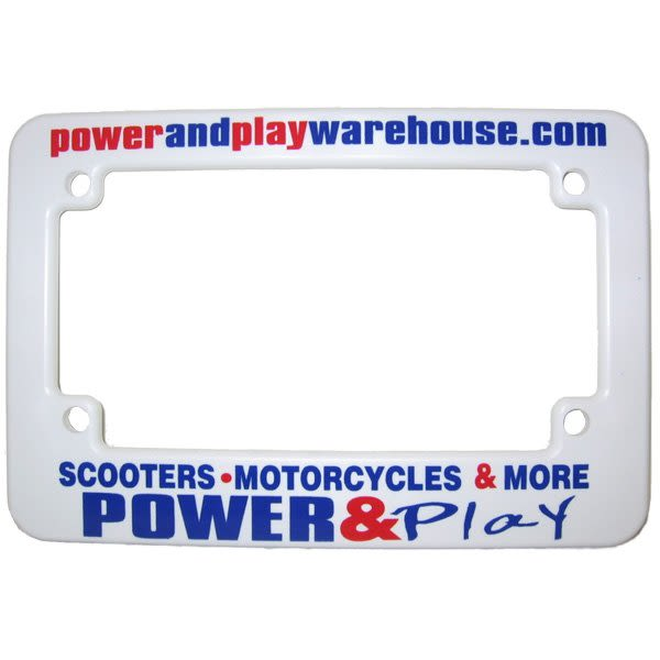 Screen Printed Motorcycle Frames | 4AllPromos