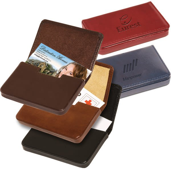 finest selection a2372 0cd16 Gift Boxed Leather Soho Card Case