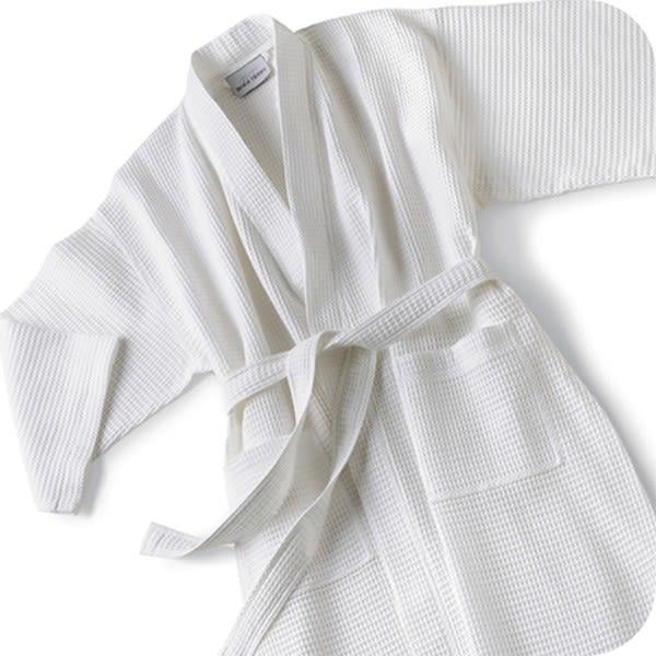 Basic Embroidered Kimono Waffle Robe  c81c38615