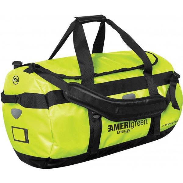 03240df2cb46 Neon Green Atlantis Promotional Waterproof Gear Bags