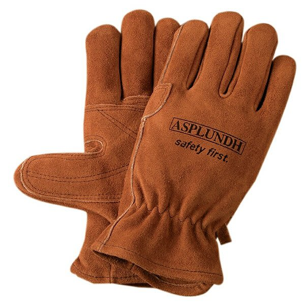 Suede Cowhide Leather Work Gloves with Branding  97c8de4d80c4