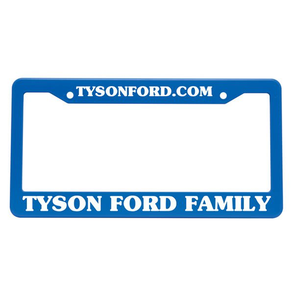 Custom License Plate Frame | Promotional License Plates Wholesale