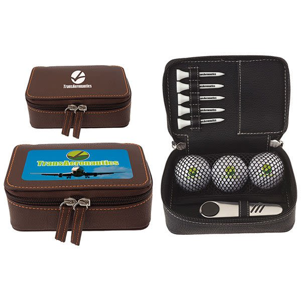 Customized Golf Gift Sets | Wilson Ultra 500 Zippered Custom Golf Kits | 4AllPromos
