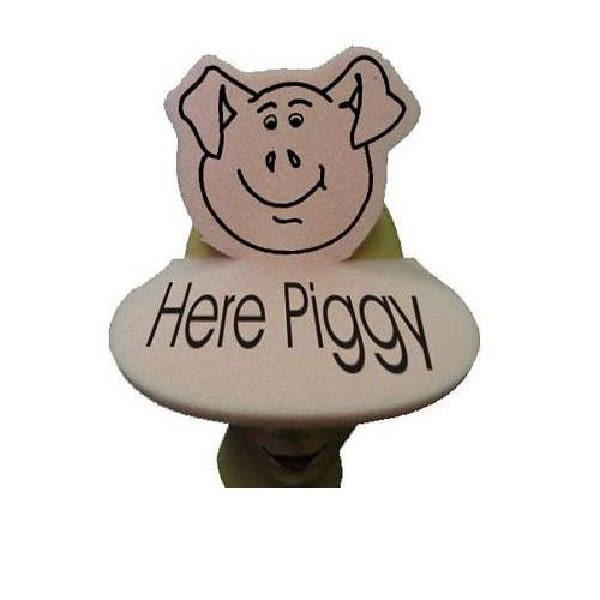 Spirit Pig Visor with Custom Logo  b0c4b2a2f31