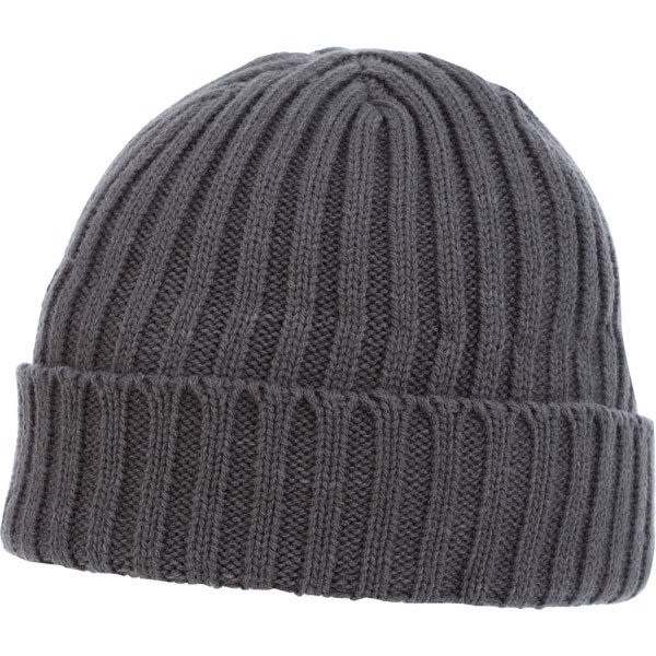 575adf655ba U-Spire Rib custom knit toques with embroidery - promotional winter hats -  Charcoal