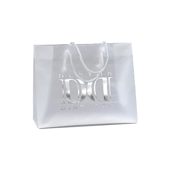 0ee237f128 Promotional Scorpio Frosted Plastic Bag | 4AllPromos