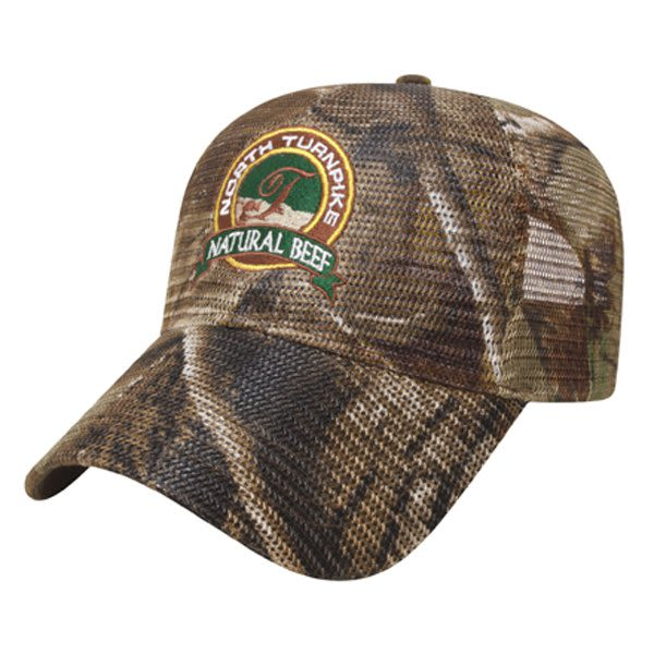 Full Patterned Camo Mesh Cap with Logo realtree ap d424ff952b3