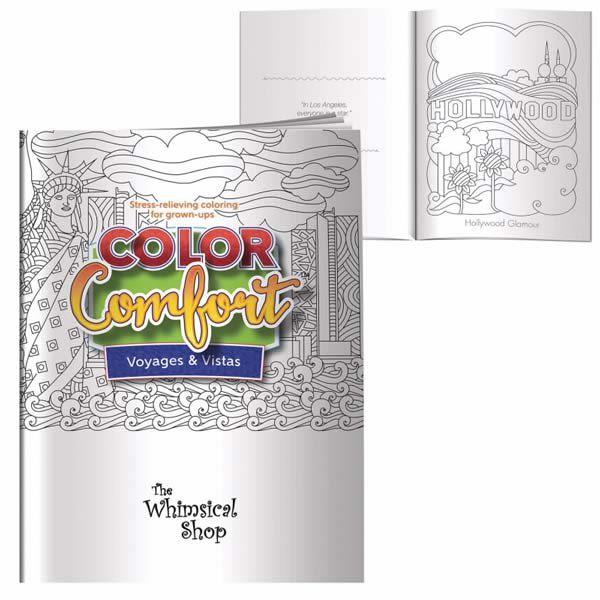 Adult Coloring Book Voyages Vistas