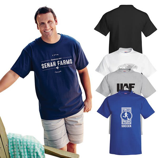 9d7e18a9 Hanes Adult Beefy Short Sleeve T-Shirt | Cheap Hanes Beefy Tees in Bulk