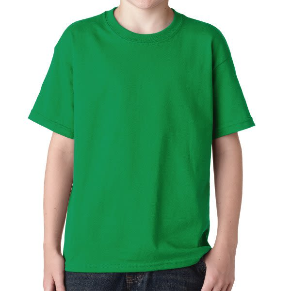 76ae999d5 Irish Green Gildan Youth Heavy Cotton T Shirt | Custom Printed Youth T- Shirts