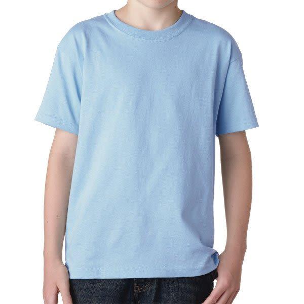 0fd8922b Light Blue Gildan Youth Heavy Cotton T Shirt | Custom Printed Youth T-Shirts