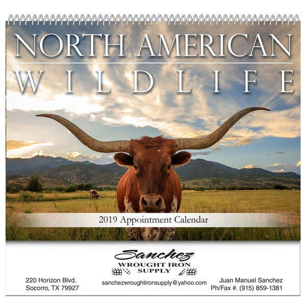 North American Wildlife Wall Calendar