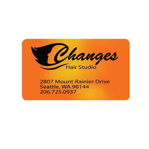 Flexible Mood Business Card Custom Heat Reactive Business Cards