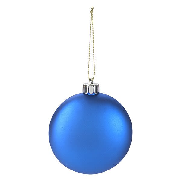 Boxed Flat Round Ornament