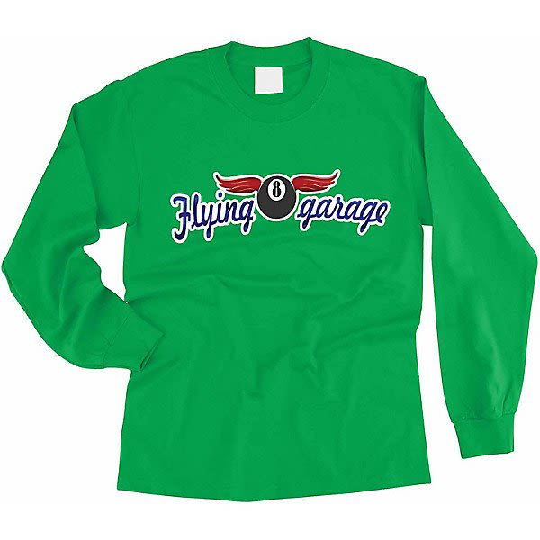 a8271164544 Kelly Green High Definition Image Long Sleeve Color Tee