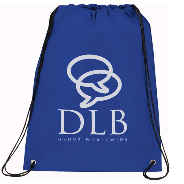 fb3577a7b392 Eco-Friendly Personalized Non-Woven Drawstring Backpacks