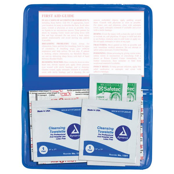 9-Piece Stay Clean First Aid Kit