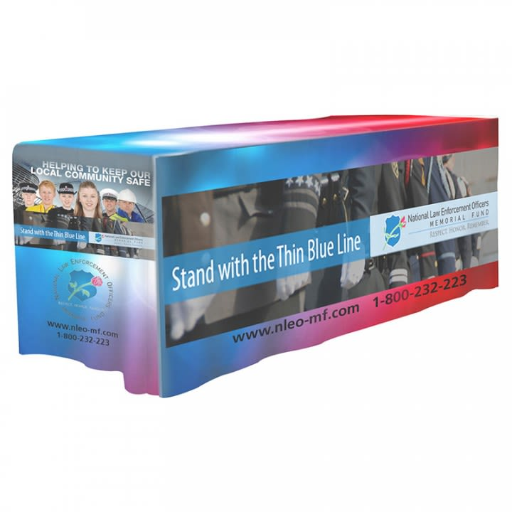 6' 4-Sided Fitted Dye Sublimation Table Cover