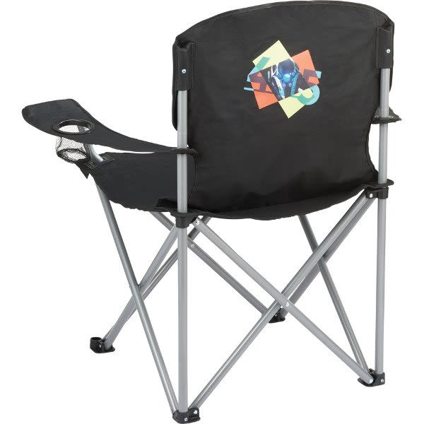 Logo Imprinted Oversized 500 Lb Capacity Folding Chair