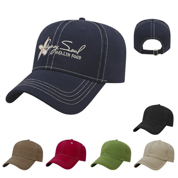 5e44c90c52ccd Custom Embroidered Cap Promotional