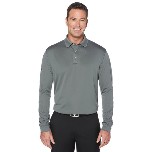 dbf4f425 Embroidered Callaway Long Sleeve Performance Polo