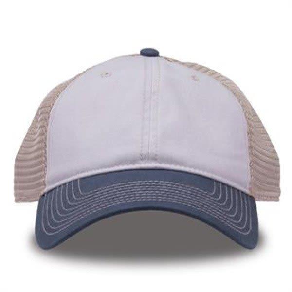 817b2bc683f4b Pelican Vintage Blue Super Soft Mesh Trucker Cap
