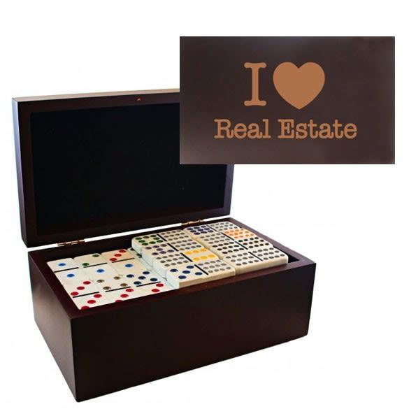 Declaration Custom Personalized Dominoes Set