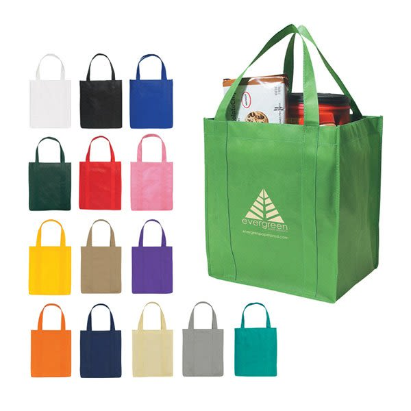Promotional Eco Friendly Tote Bags Large Thunder Grocery Tote