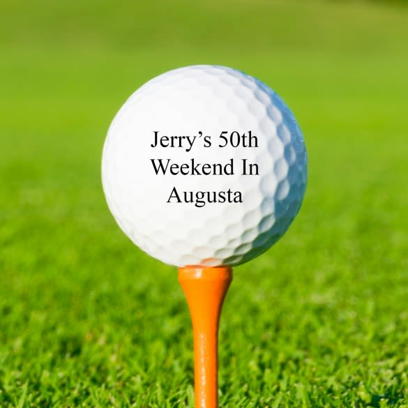 Titleist DT TruSoft Personalized Golf Balls - Set of 3