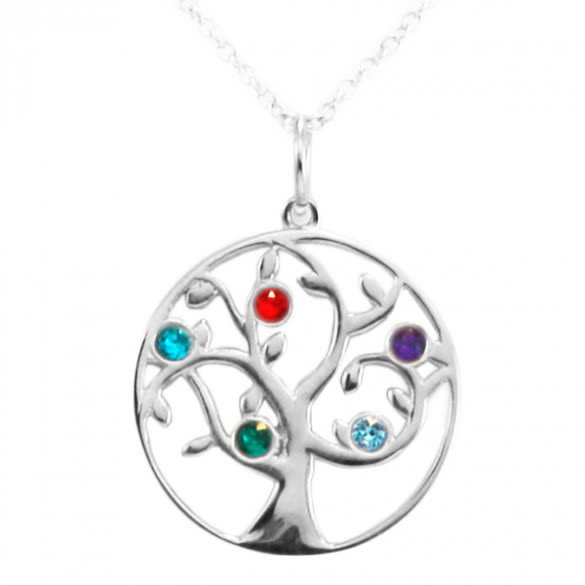 9aa07b8e2b2f Personalized Family Tree Necklaces