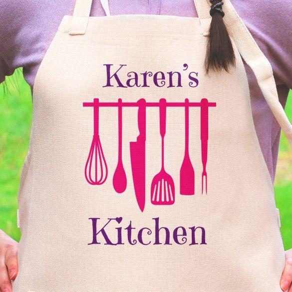 Personalized Kitchen Apron