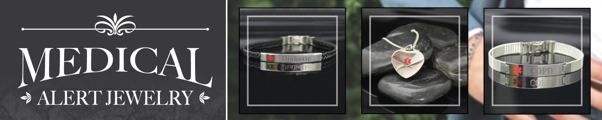 Men's Jewelry Personalised Id Man Bracelet Engraved Gift Father Lover Medical Diabetes Soft And Light