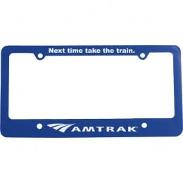 RATHER BE PLAYING MY GUITAR Metal License Plate Frame Tag Holder Two Holes