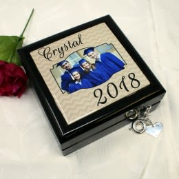 personalized jewelry keepsake box gift for woman Jewelry box angels custom message box vintage decor wedding gift angels gift for girl