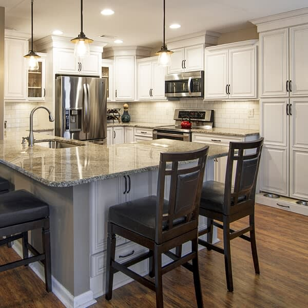 Kitchen flooring inspiration in Thompson's Station, TN from Inspired Flooring & Design