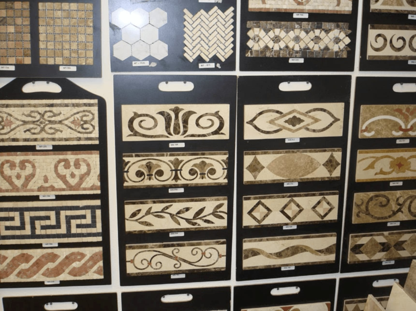 Custom tile patterns for your Anaheim, CA home from 55 Flooring