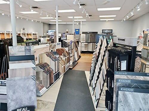 The Amazing Hardwood Floors showroom in Bolton, CT