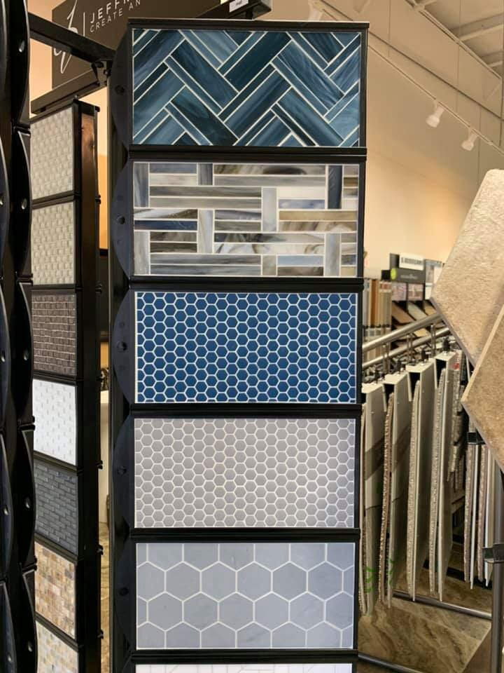 Patterned tile for your Antioch, IL home from Anderson Tile & Carpet