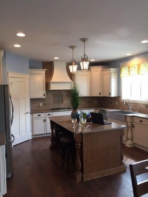 Luxury kitchen floors in Uniontown OH from Barrington Carpet & Flooring Design