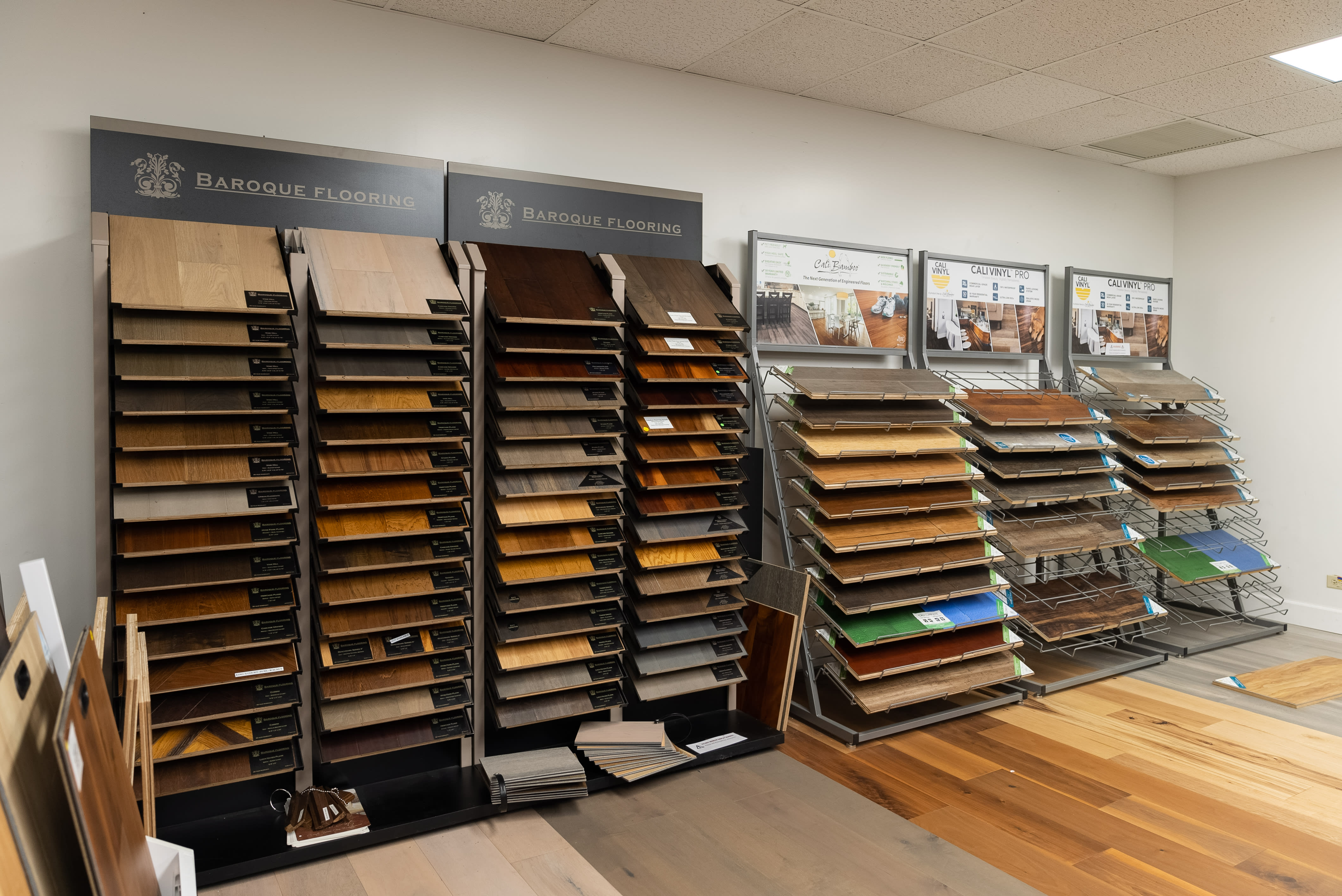Wood flooring in Pearl City, HI from the Bougainville Flooring Super Store showroom