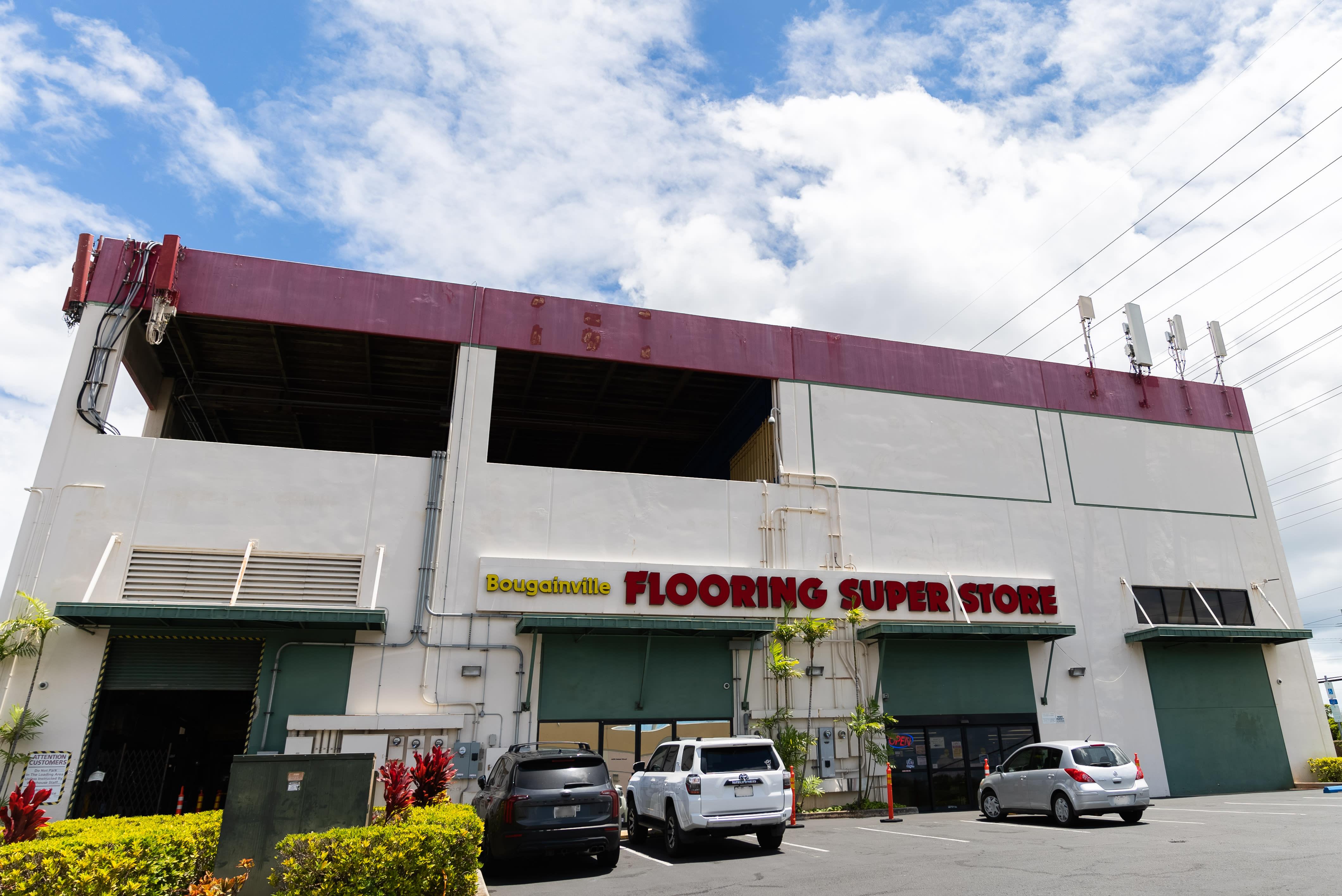 Bougainville Flooring Super Store showroom near Honolulu, HI