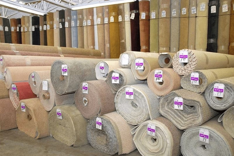 Carpet rolls in classic colors for your Bonita Springs, FL flooring project