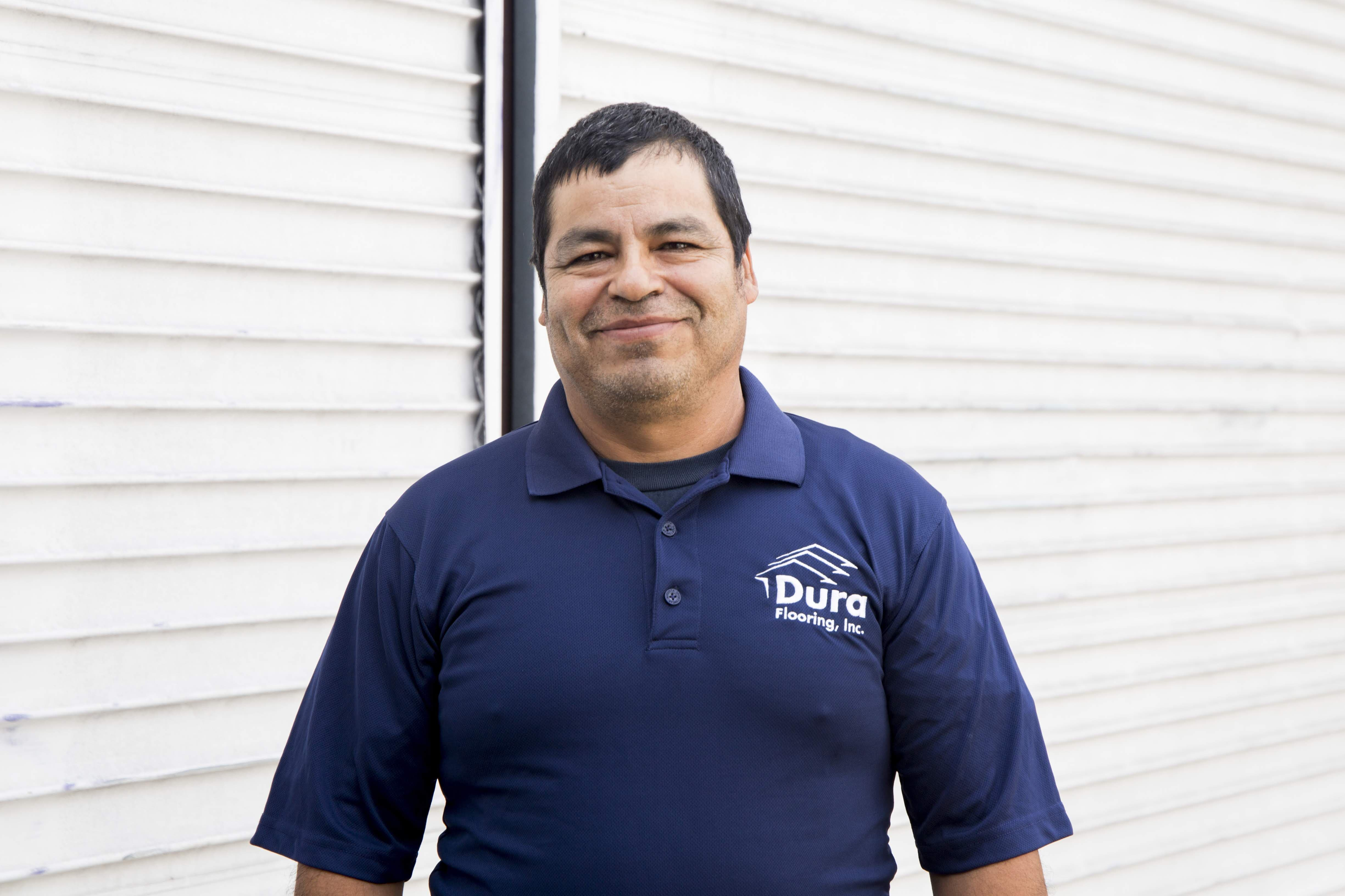 Manuel G, Warehouse at Dura Flooring, Inc