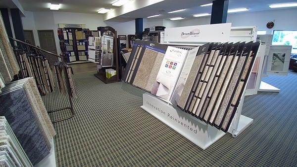 Flooring showroom serving the Harrisonburg, VA area