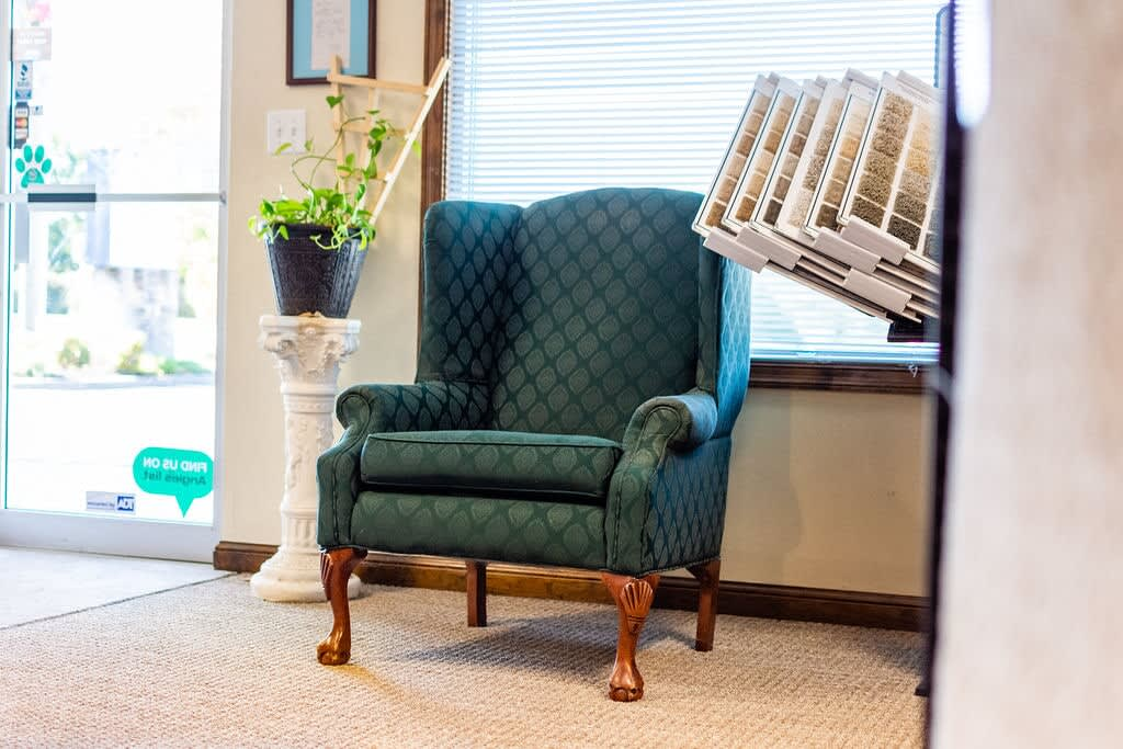 Relax here and plan your carpet installation for your Portsmouth, VA home from Floors Unlimited