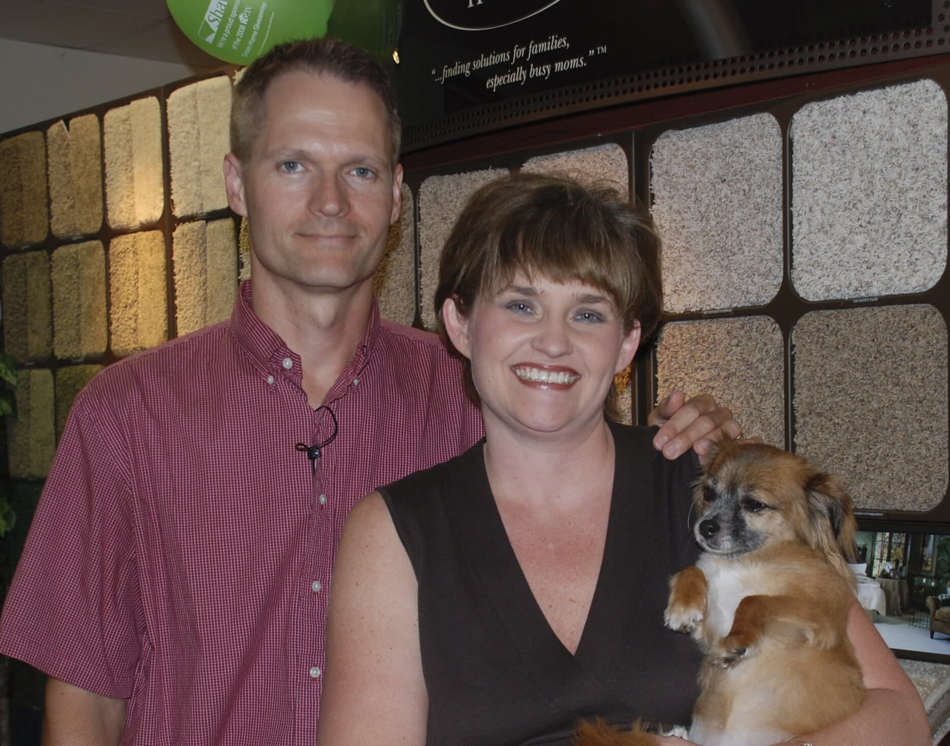 Phil Jr. and Amy of Floors Unlimited, your flooring experts