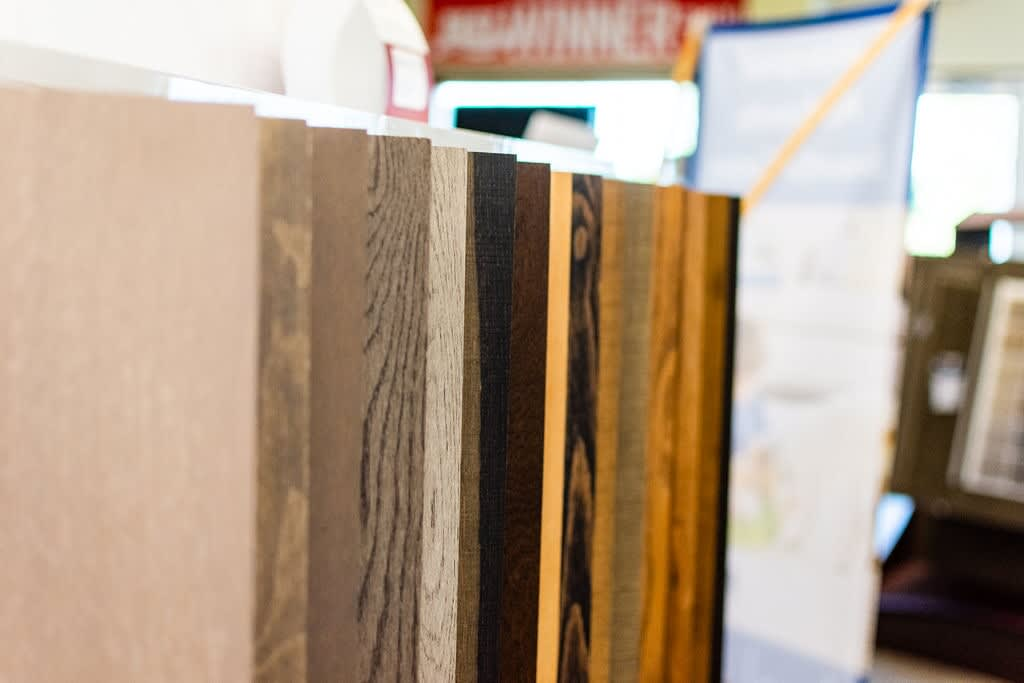 Hardwood samples for your Norfolk, VA home from Floors Unlimited
